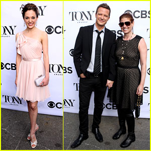 Laura Osnes & Debra Messing: Tony Awards Cocktail Party!