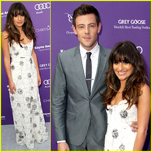 Lea Michele & Cory Monteith: Chrysalis Butterfly Ball 2013!