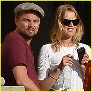 Leonardo DiCaprio & Toni Garrn Visit Versailles