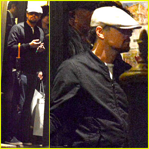 Leonardo DiCaprio: Venice Night Out with Mom Irmelin!