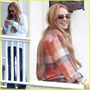 Lindsay Lohan: Rehab Center Bonding with Friends!