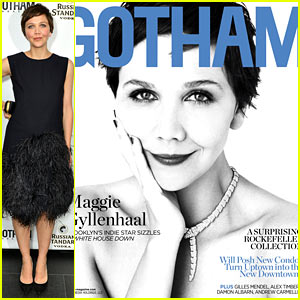 Maggie Gyllenhaal Covers 'Gotham', Celebrates the Magazine