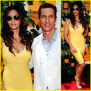 Matthew McConaughey: Veuve Clicquot Polo Classic!