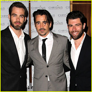 Chris Pine & Colin Farrell: Chrysalis Butterfly Ball 2013