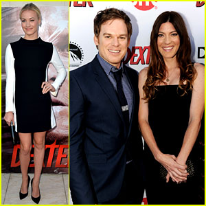 Michael C. Hall & Jennifer Carpenter: 'Dexter' Premiere!