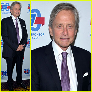 Michael Douglas Attends Cancer Event After Clearing Up Oral Sex Comments