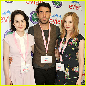 Michelle Dockery & Tom Cullen: Evian Live Young Suite!