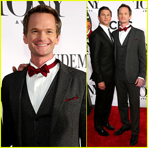 Neil Patrick Harris: Tony Awards 2013 Red Carpet with David Burtka!