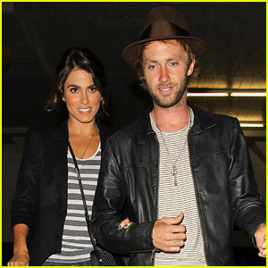 Nikki Reed Supports Paul McDonald at Hotel Cafe Gig!