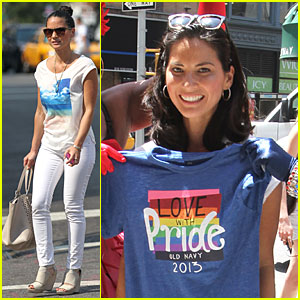Olivia Munn: I Was Inspired By Diane Sawyer!