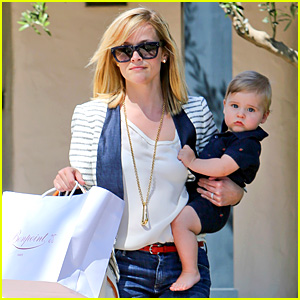 Reese Witherspoon: Playdate with Tennessee!
