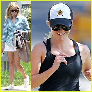 Reese Witherspoon: Smiling Star Workout!