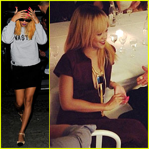 Rihanna: Dinner with Azze