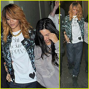 Rihanna: Lillie's Bordello Nightclub with Jennifer Rosales!