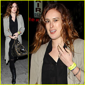 Rumer Willis Attends Concert After 1 Year with Jayson Blair!