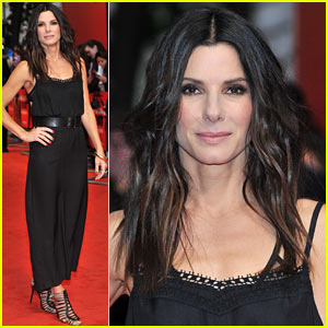 Sandra Bullock: 'The Heat' Gala Screening in London!