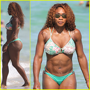Serena Williams: Bikini Beach Babe!
