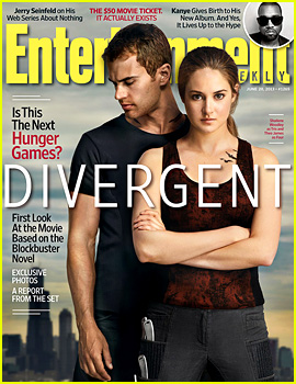 Shailene Woodley & Theo James: 'Divergent' Covers 'EW'!