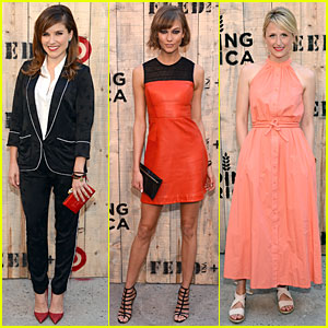 Sophia Bush & Karlie Kloss: Feed & Target Launch!