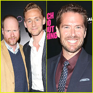 Tom Hiddleston Supports Joss Whedon's 'Much Ado About Nothing'!