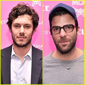 Adam Brody & Zachary Qunto: 'Lovelace' NYC Screening!