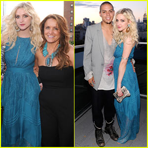 Ashlee Simpson: Jessica Simpson Campaign Launch with Evan Ross!