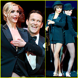 Ashlee Simpson, Stephen Moyer, & Samantha Barks: 'Chicago' at the Hollywood Bowl! (Video)