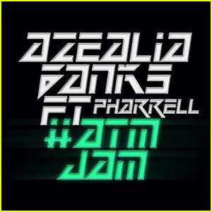 Azealia Banks: 'ATM Jam' feat. Pharrell - First Listen!