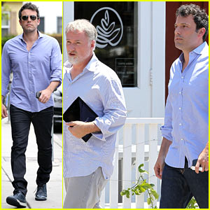 Ben Affleck Steps Out After Coffee with Gone Girl's David Fincher