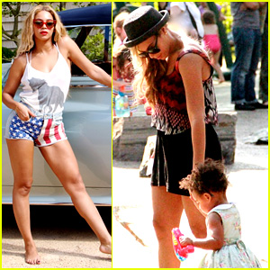 Beyonce Shares 4th of July Photos, New Blue Ivy Pics!