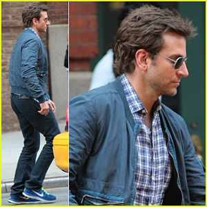Bradley Cooper: NYC Hotel Exit After Wimbledon Finals!