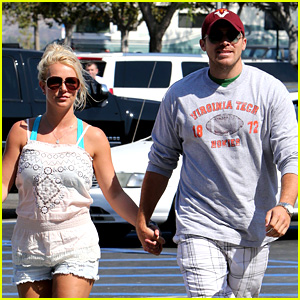 Britney Spears & David Lucado Hold Hands on Fourth of July