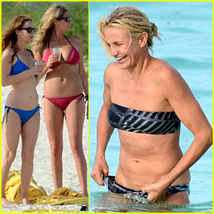 Cameron Diaz & Kate Upton: Bikini Babes in the Bahamas!
