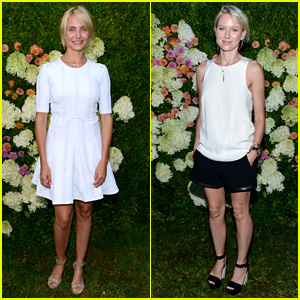 Cameron Diaz & Naomi Watts: Baby Buggy Summer Dinner!