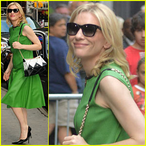 Cate Blanchett Talks Prepping for 'Blue Jasmine' in Socialite NYC