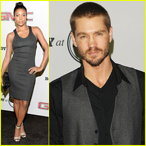 Chad Michael Murray & Gabrielle Union: ESPN Body Issue Party!