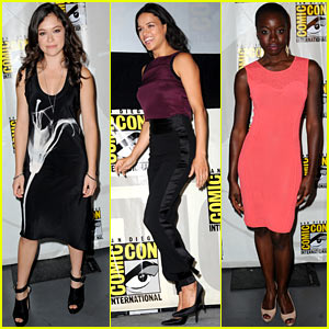Danai Gurira & Tatiana Maslany: Women Who Kick Ass Comic-Con 2013 Panel!