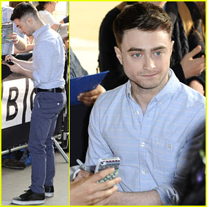 Daniel Radcliffe: I'm Going to Watch 'Teen Wolf' with Miley Cyrus!