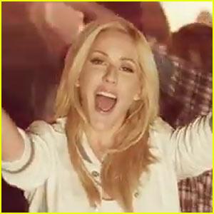 Ellie Goulding's 'Burn' Video Premiere - Watch Now!