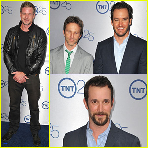 Eric Dane & Mark-Paul Gosselaar: TNT's 25th Anniversary Party!