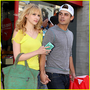 Garrett Clayton & Claudia Lee: Holding Hands!