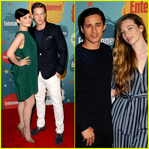 Ginnifer Goodwin & Josh Dallas: 'Once' at EW Comic-Con Party!