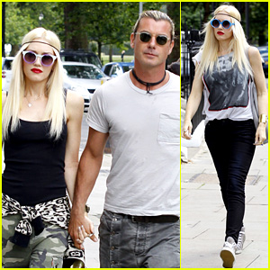 Gwen Stefani & Gavin Rossdale Roam London with the Boys