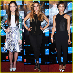 Hailee Steinfeld & Shailene Woodley: Summit Entertainment Party!