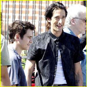 Hayden Christensen & Adrien Brody: 'American Heist' Hunks!