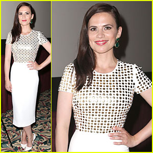 Hayley Atwell: Marvel One-Shot 'Agent Carter' Screening!