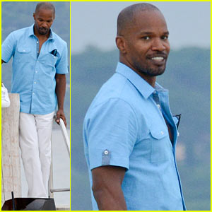 Jamie Foxx Thanks Fans for 'White House Down' Love!