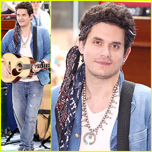John Mayer Visits 'Today' After Spending July 4th with Katy Perry
