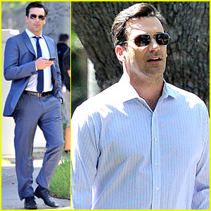 Jon Hamm Spots Million Dollar Look for 'Million Dollar Arm'!