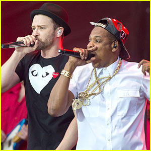 Justin Timberlake & Jay-Z Duet 'Holy Grail' in London (Video)